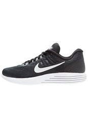 Nike Performance Lunarglide 8 Neutral Running Shoes Black White Anthracite