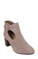 Earth Corinth Bootie Taupe Suede