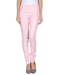 Pieces Casual Pants Coral