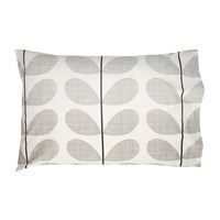 Orla Kiely Scribble Soft Pillowcases Set Of 2 Concrete