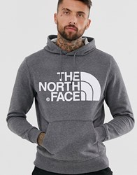 The North Face Standard Hoodie In Grey