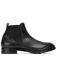 Buttero Elasticated Panel Ankle Boots Black