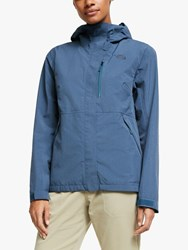The North Face Dryzzle Futurelighttm 'S Waterproof Jacket Blue Wing Teal