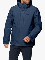 Jack Wolfskin Gotland 3 In 1 'S Waterproof Jacket Dark Indigo