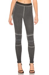 David Lerner Stitch Moto Legging Black