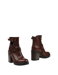 Manufacture D'essai Ankle Boots Cocoa