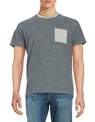 Brooks Brothers Knit Pocket Tee Black