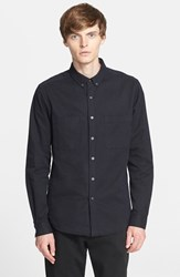 Men's Patrik Ervell Heavyweight Cotton Oxford Shirt