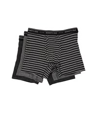 Kenneth Cole Reaction Boxer Brief Black Bar Men's Underwear