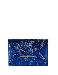 Bcbgmaxazria Harlow Sequined Envelope Clutch Blue