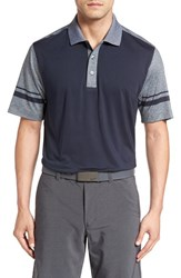 Cutter And Buck Men's 'Notable Colorblock' Colorblock Drytec Golf Polo