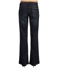 Stetson 816 Classic Boot Cut Jean 32 Inseam Dark Wash Women's Jeans Navy