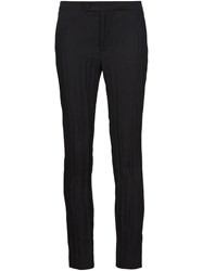 Alexandre Plokhov Slim Fit Trousers Black
