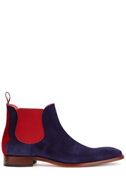 Jeffery West Horrorshow Navy Suede Boots