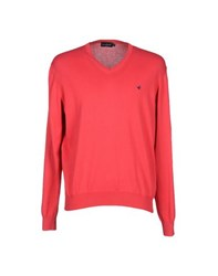Brooksfield Knitwear Jumpers Men Red