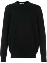 Givenchy Classic Knitted Sweater Men Cotton Polyamide Spandex Elastane S Black