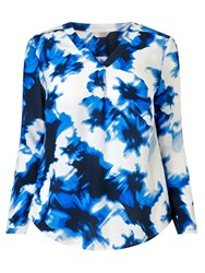 Windsmoor Printed Open Neck Tunic Multi Coloured