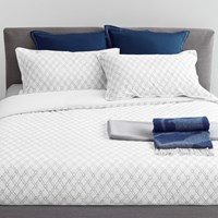 Trussardi Intreccio Duvet Cover Set Turtle Dove Super King