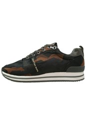 Calvin Klein Jeans Everly Trainers Military Caution Orange Oliv