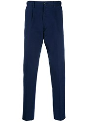 Pt01 High Rise Chinos Blue