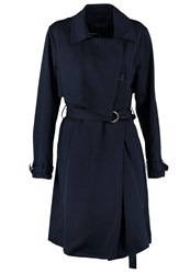 Mbym Penna Trenchcoat Night Sky Dark Blue