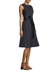 Derek Lam Sleeveless Denim Dress Indigo