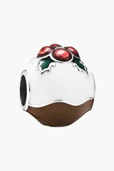 Pandora Design Christmas Pudding Charm Metallic