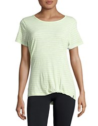 Marc New York Striped Active Tee Sweet Pea