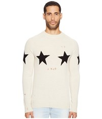 Marc Jacobs Star Sweater Natural Men's Sweater Beige