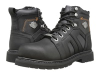 Harley Davidson Chad Steel Toe Black Men's Work Lace Up Boots