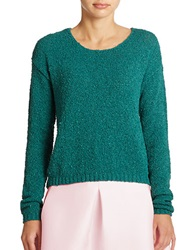 424 Fifth Scoopneck Pullover Sweater Sherwood