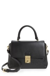 Ted Baker London Luggage Lock Leather Satchel