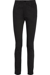 Oak High Rise Skinny Jeans Black