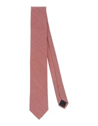 Jil Sander Accessories Ties Men Brick Red