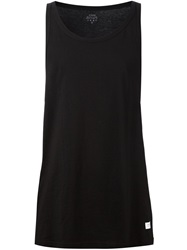 Stampd Scoop Neck Tank Top Black