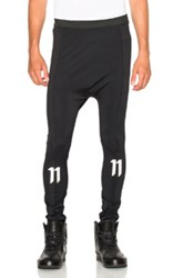 11 By Boris Bidjan Saberi Reflective Tights In Black