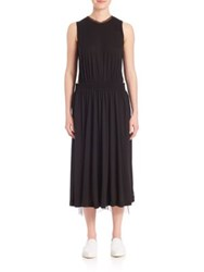 Y 3 Gauze Dress Black