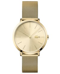 Lacoste Women's Moon Ultra Slim Gold Plated Stainless Steel Bracelet Watch 35Mm No Color