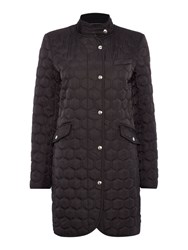 Gant Classic Quilted Coat Navy