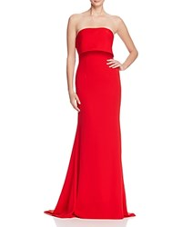 Jarlo Strapless Gown Red