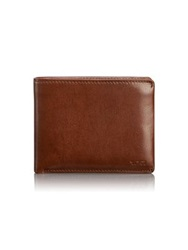 Tumi Chambers Global Removable Passcase Id Wallet Teak Black