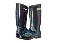 Bogs Rain Boot Rosey Dark Gray Multi Women's Rain Boots