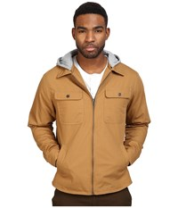 Brixton Canton Jacket Copper Men's Coat Bronze