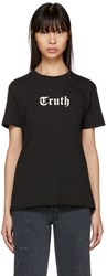 6397 Black Truth Boy T Shirt