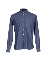 Brio Denim Denim Shirts Men Blue