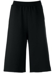 Maison Martin Margiela Mm6 Elasticated Waistband Shorts Black