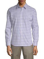 Hyden Yoo Plaid Cotton Button Down Shirt Multi