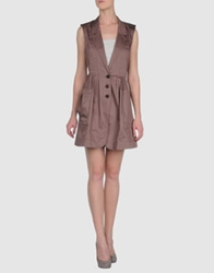 Pennyblack Short Dresses Light Brown