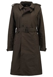 G Star Gstar Florence Trench Trenchcoat Asfalt Oliv