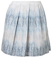 Marc O'polo Pleated Skirt Combo Blue